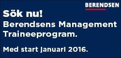 Berendsen Textil Service AB - Berendsens Management Traineeprogram 2017